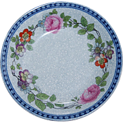 Vintage Floral Pattern Furnivals England Small Side plate or bowl