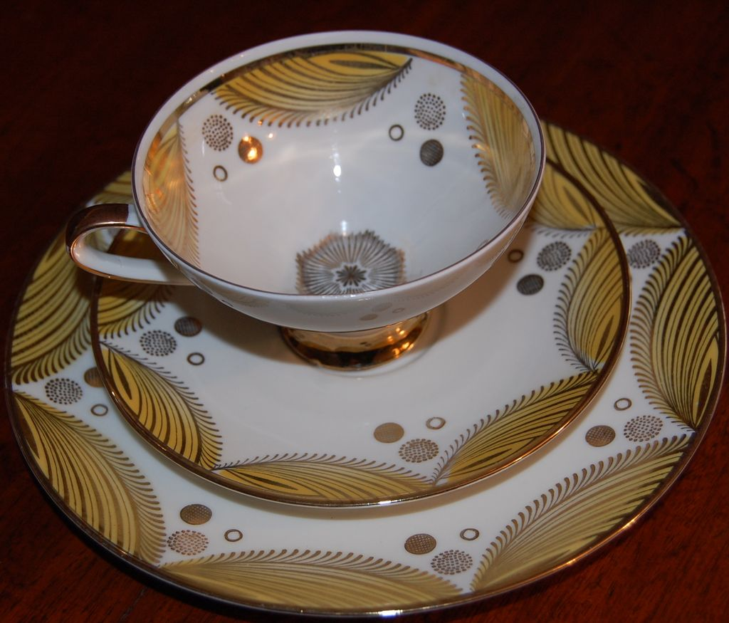 Vintage Modern Winterling Bavarian Luncheon set