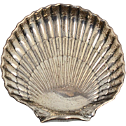 "Signed Gorham Sterling Silver 6"" Clam Shell Figural Tray Dish"