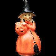 Gurley USA Halloween w/ Jack-O-Lantern Pumpkin Candle Never Lit