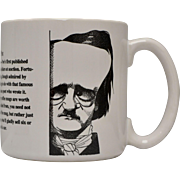 Largely Literary Edgar Allan Poe Large Mug in Original Box