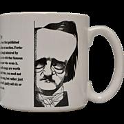 Largely Literary Edgar Allan Poe Large Mug in Original Box
