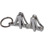 Sterling Silver Golden Gate Bridge Charm