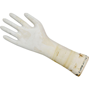 Large White Ceramic Hand Glove Factory Mold