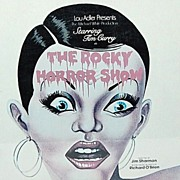 1974 The Rocky Horror Show ~ FRAMED LP Record