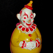 1940/50s Celluloid Clown Roly Poly Toy