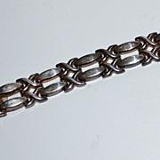 19.5G Sterling Silver 925 X-Kiss Link Bracelet