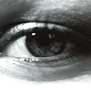 1974 Woman's Eye B/W Photograph