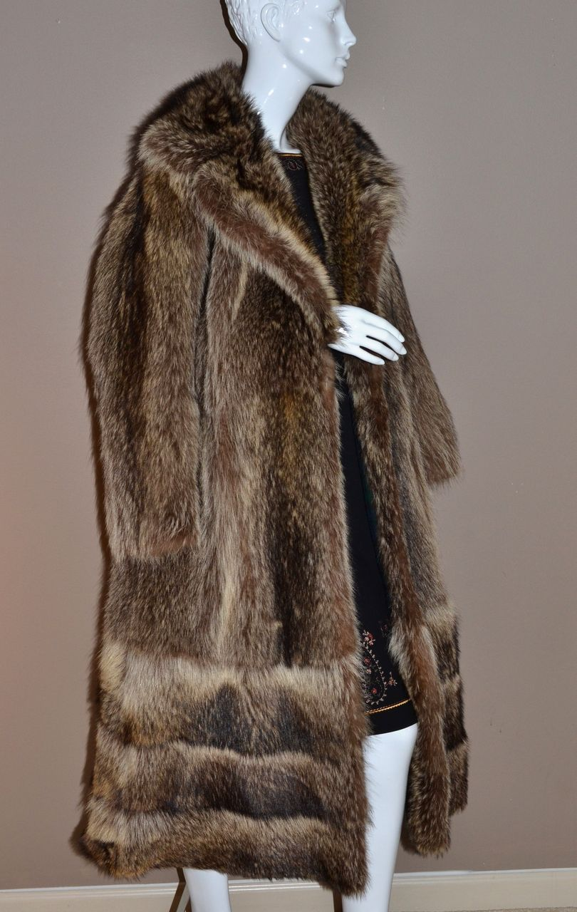 1960s Donald Brooks Boutique ~ Long Mink Fur Coat from ...