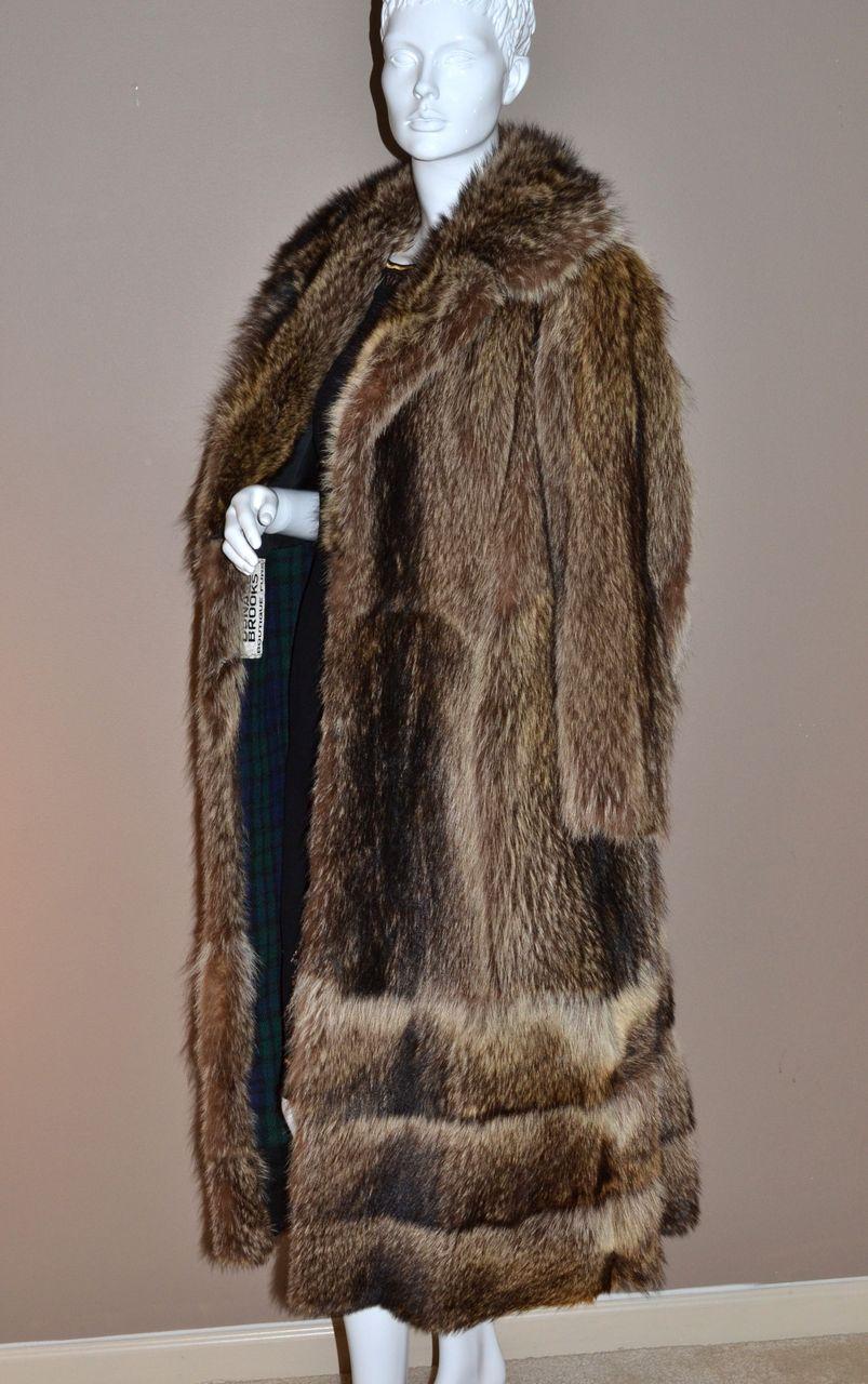 1960s Donald Brooks Boutique ~ Long Mink Fur Coat from ...