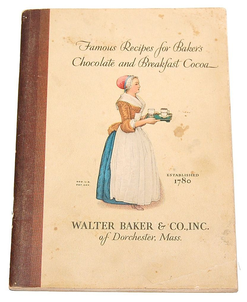 1928 Famous Recipes for Baker's Chocolate & Breakfast Cocoa ...