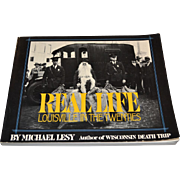 1976 Real Life ~ Louisville in the Twenties ~ Art Photography Book