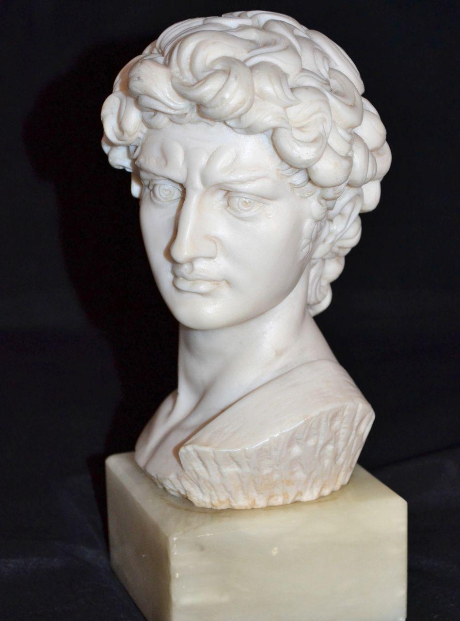 1960s Alabaster Amp Marble Michelangelo S David Neoclassical