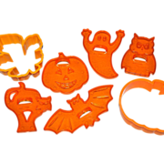 Amscan ~ Set of 7 Halloween Cookie Cutters