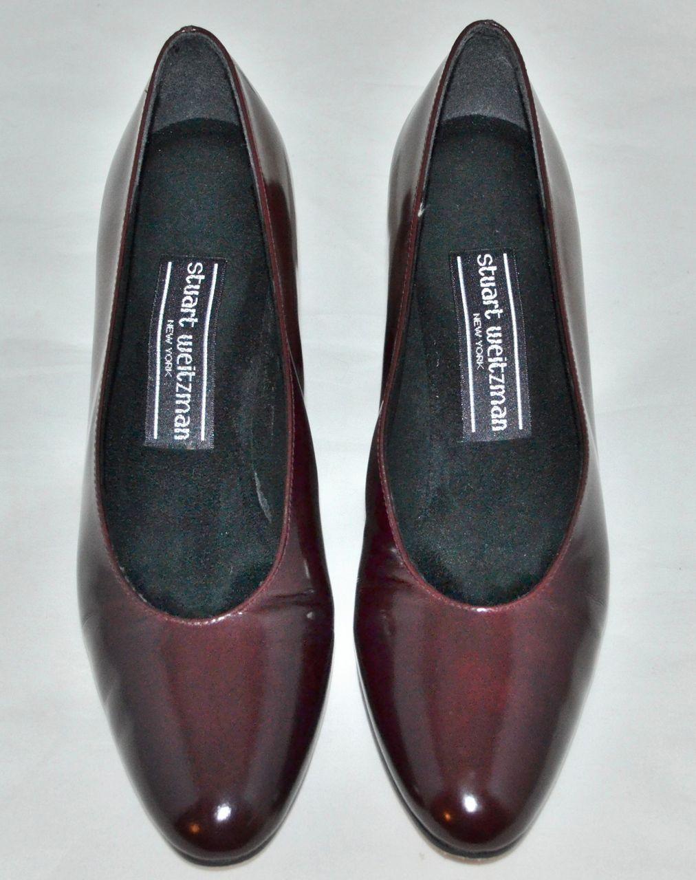 Stuart Weitzman ~ Rust Brown Leather Pumps/Heels ~ Size 6 from ...