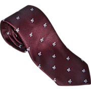 Heineken Signature Burgundy Wine Men's Neck Tie