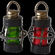 Undertaker's Lantern Salt & Pepper Shaker Set
