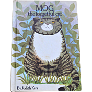 Rare 1972 MOG The Forgetful Cat Hardcover Book