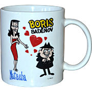 Croce Co. Natasha and Boris Sinister Love Ceramic Mug