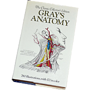 1977 Gray's Anatomy Collector's Edition Hardcover Book ~ Beautiful Condition w/ DJ