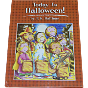 NOS 1993 Today is Halloween! Hardcover Book