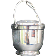 Signed Poole Silver-plated Insulated Ice Bucket