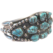 Vintage Navajo Cuff-Great Western Look!   FREE SHIPPING!