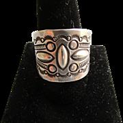 Silver Navajo Men's Ring