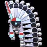 Zuni Headdress Ring-Free Shipping!   MORE THAN 30% OFF!