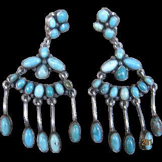 Carico Lake Turquoise Earrings-Make An Offer