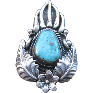 Old Navajo Claw Ring-Free Shipping!