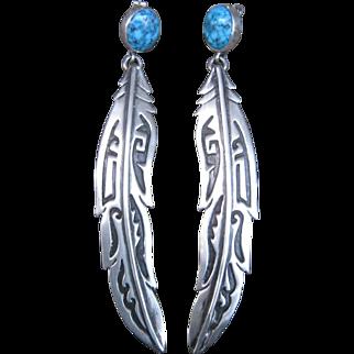 Native American Earrings-Spectacular!!
