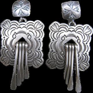 Navajo Sterling Earrings