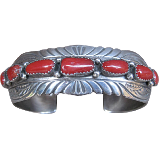 Coral Cuff-Now On Sale!