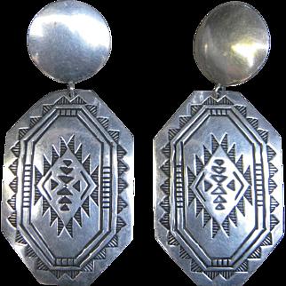 Navajo Troy Laner Earrings