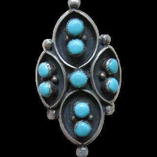 Zuni Turquoise Ring