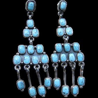 Navajo Chandelier Earrings-SUPERB!