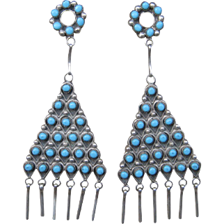 Zuni Chandelier Earrings-Now On Sale!