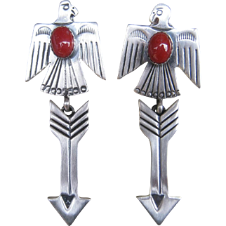Navajo Thunderbird Earrings
