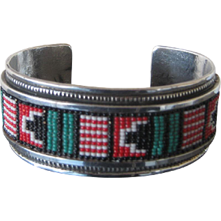Vintage Native American Cuff