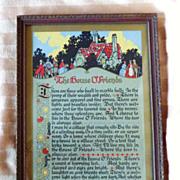 Vintage Verse Print