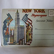 New York Skyscrapers Souvenir Folder