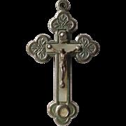 St. Frances Xavier Cabrini Reliquary Crucifix