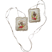 Exquisite Jesus and Mary Scapular