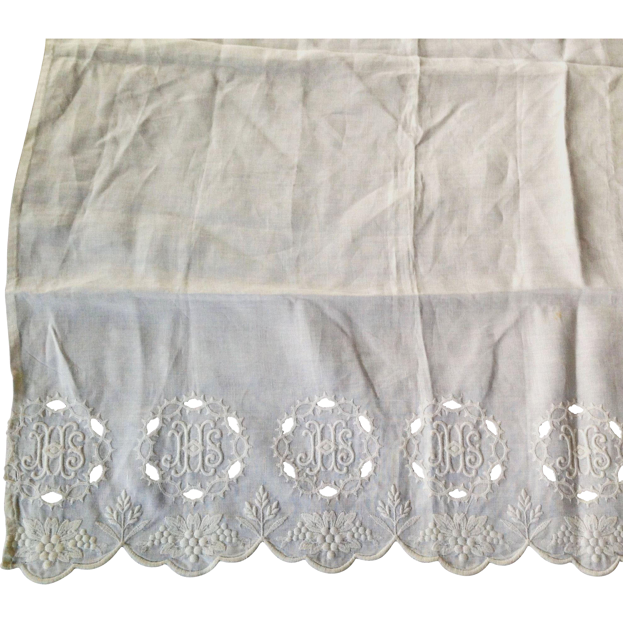 Communion Table Altar Cloth From Manderlyestates On Ruby Lane