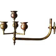 Brass Gas Lamp Arm