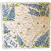 Texas Souvenir Handkerchief