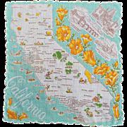 California Souvenir Hankie