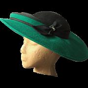 Felt Hat from Sylvia, New York / St. Louis