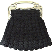 Decorative Handle Evening Bag